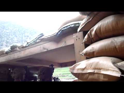 TOW Missile launch and Kiowa Gun Run in Kunar, Afghanistan