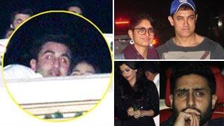 Ranbir Kapoor & Katrina Kaifs PRIVATE BASH | Aamir Khan, Alia Bhatt, Aishwarya, Arjun ATTEND