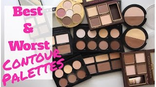 Best and Worst of the Contour Palettes! My High End and Drugstore Contour Palette Collection