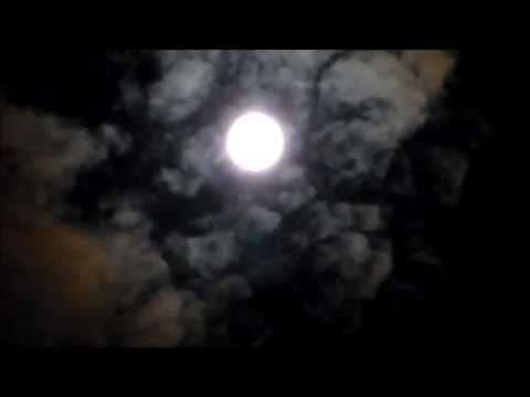 Reptilian and humanoid faces looking at the moon.Harvest Moon September 19,2013 .