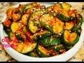Spicy Korean Sauteed Zucchini (Squash) Side Dish (…