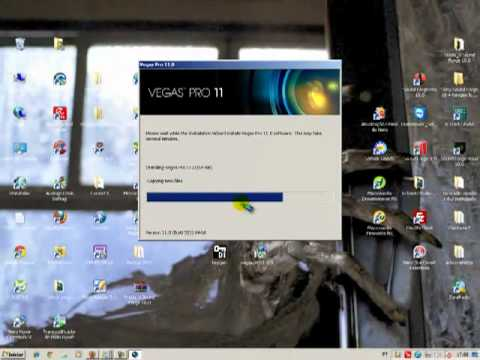 Como instalar e ativar o Sony vegas pro 11 no windows 7