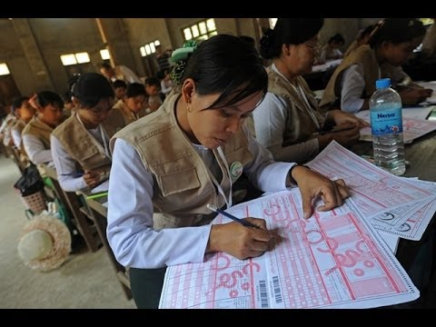 Myanmar population count comes with controversy
