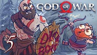 God of War HARD MODE (God of War 4) Part 5 - w/ The Completionist