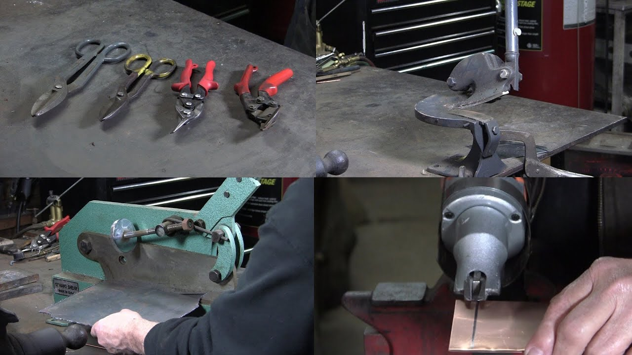 Tools For Cutting Sheet Metal Youtube