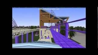 No Limits Coaster Simulation 1.7 - Sky High Expressway