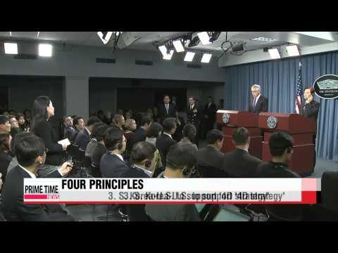 S. Korea, U.S. outline 4 principles to counter growing N. Korean missile threat