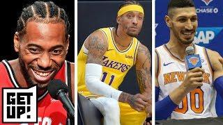 Enes Kanter, Kawhi Leonard, Michael Beasley made NBA media day hilarious | Get Up! | ESPN