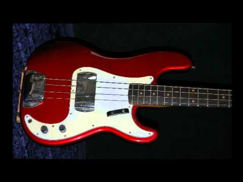 BASSART Nitro Guitar refinishing Candy apple red
