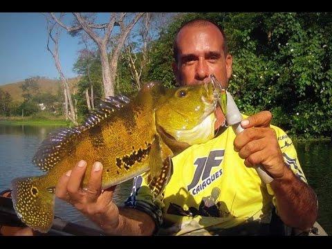 Tucunaré E Traíra No Rio Guandú - Pesca Com Caiaque