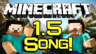 "‪♪‬ ""The Minecraft 1.5.2 Song!"" - (Original Song) A Musical Change-Log for Minecraft Update 1.5"