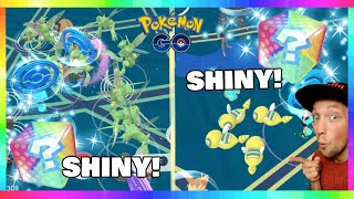 NEW SHINY DUNSPARCE MEGA NEST IN POKEMON GO! OTHER SHINY NESTS TOO!