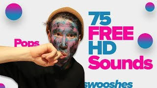 75 FREE HD Sounds for your Videos and Music