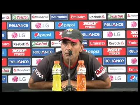 Live Post Match Press Conference South Africa v United Arab Emirates - Wellington