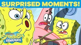 Top 20 Times SpongeBob Was Really Surprised! 😮 SpongeBob | #TBT
