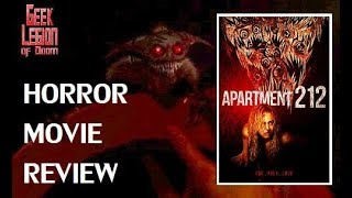 APARTMENT 212 ( 2017 Penelope Mitchell ) aka GNAW Horror Movie Review