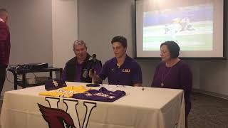 E.D. White's Wes Toups signs baseball scholarship to LSU