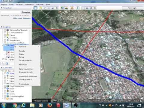 Usando O Google Earth