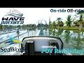 Wave Breaker: The Rescue Coaster Accurate/Unofficial POV Rendering SeaWorld San Antonio (NoLimits 2)