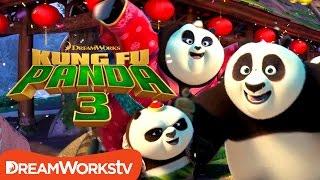Po's Panda Party Music Video | KUNG FU PANDA 3