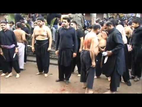 Shaam 2012 - QBH - Zanjeer & Qama on Chehlum - Ravi Road