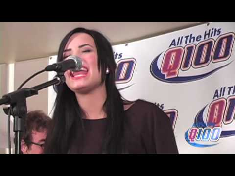 Demi Lovato la La Land Live On The Bert Show video