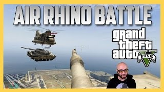Air Rhino Battle - GTA V (Grand Theft Auto 5)
