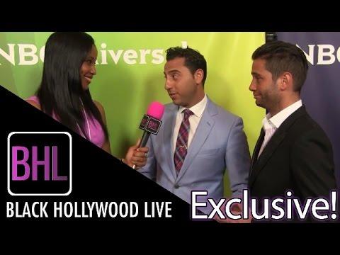 Josh Altman and Josh Flagg from Million Dollar Listing LA at NBC Universal Press Tour
