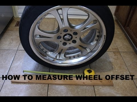 How to Measure and Calculate Wheel Offset