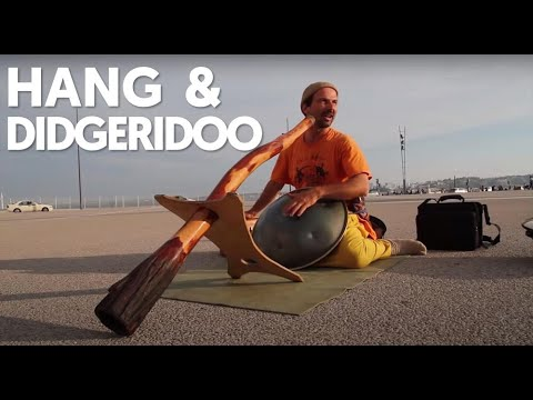Ananda Krishna Röösli - Hang & Didjeridoo - Lisbon