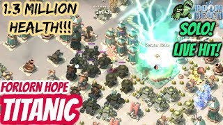 Boom Beach TITANIC - Forlorn Hope - SOLO!!! Performed LIVE on YouTube!