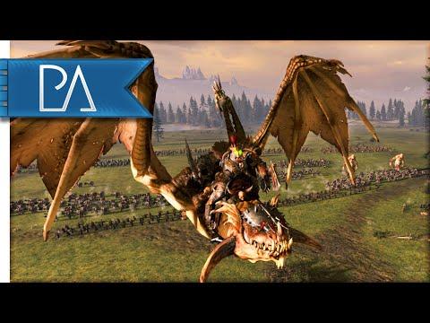 EXTREMELY CLOSE SIEGE BATTLE - Total War: WARHAMMER Gameplay
