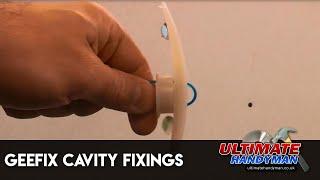 GeeFix plasterboard fixings