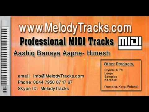 Aashiq Banaya Aapne MIDI - www.MelodyTracks.com