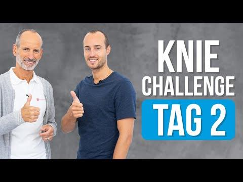 7-Tage Knie-Challenge ❇️ Tag 2 ❇️ (Knieschmerzen, Übungen, Kniearthrose)