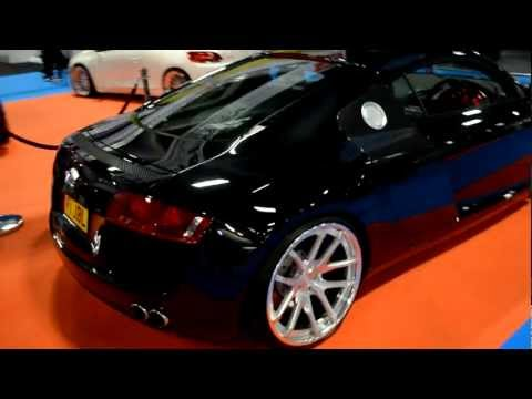 Car Audio Security JBL Audi R8 with Viper / Clifford SmartStart iPhone App, Alarm & Tracking