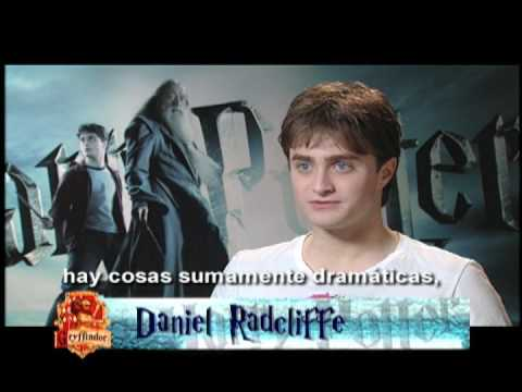 Entrevista a Daniel Radcliffe - Harry Potter and the Half Blood Prince