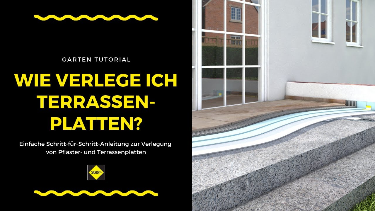 terrassenplatten verlegen video terrassenplatten verlegen anleitung terrassenplatten auf. Black Bedroom Furniture Sets. Home Design Ideas