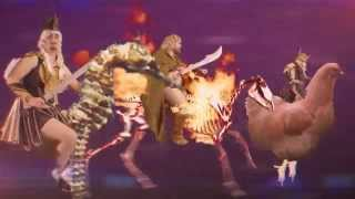 Watch Axis Of Awesome The Glorious Epic Of Three Men Who Are Awesome video