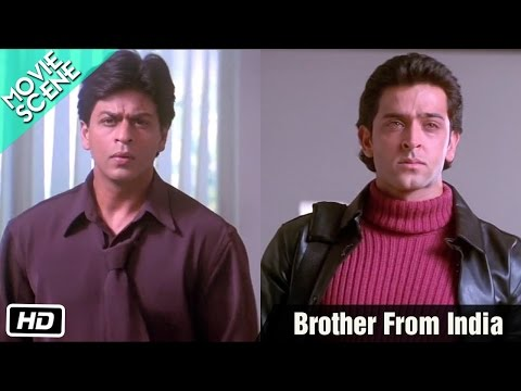 'brother India' -  Kabhi Khushi Kabhie Gham  Scene| Hq video