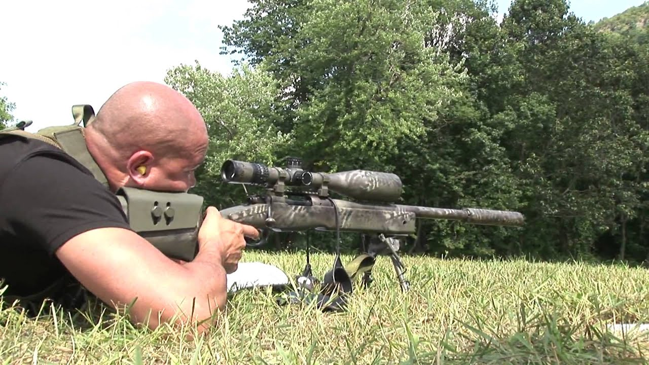 2009 CT SWAT Challenge Silenced Sniper - YouTube M110 Sniper Rifle Suppressed