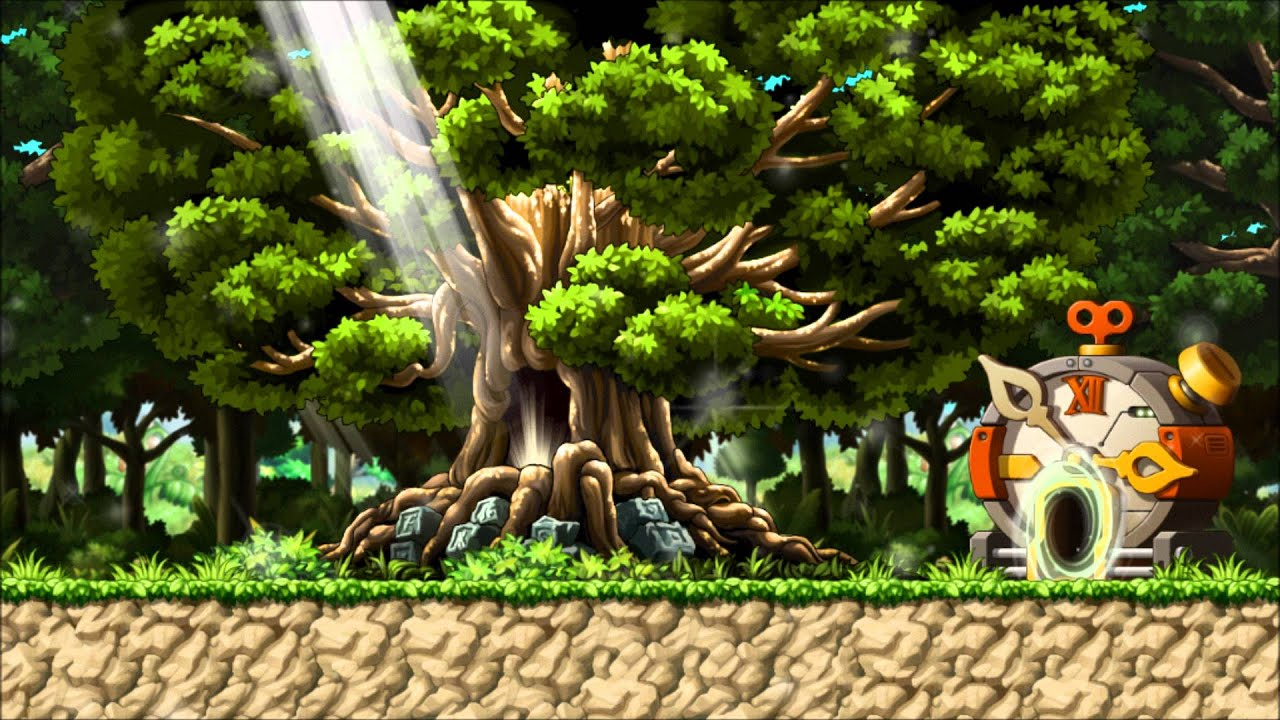 Forest Maplestory Maplestory Bgm Tera Forest |