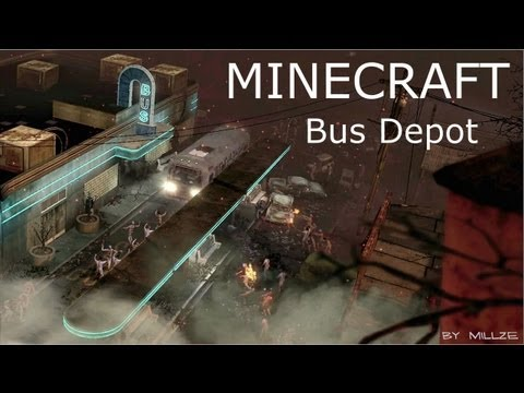 MINECRAFT ZOMBIES - TranZit Bus Depot (Episode 1) [WORLDS BEST QUALITY WITH DOWNLOAD]