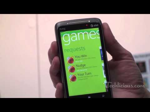 Microsoft Windows Phone 7 XBox Live
