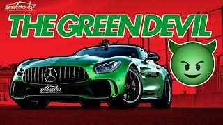 INFERNO VERDE! O MONSTRUOSO MERCEDES-AMG GT R VIRA UM TEMPORAL NA PISTA! - VR C/ RUBINHO #141