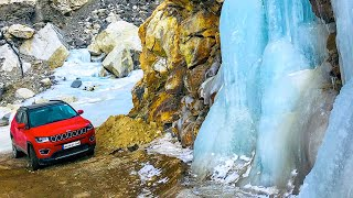 Jeep To the Spiti Valley  with the Jeep Compass in Winter