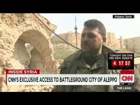 CNN exclusive  Reporting from the front lines of Syria