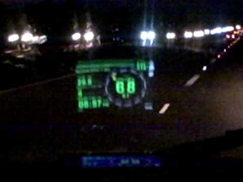 Iphone 3G running Head Up Display App must see!!