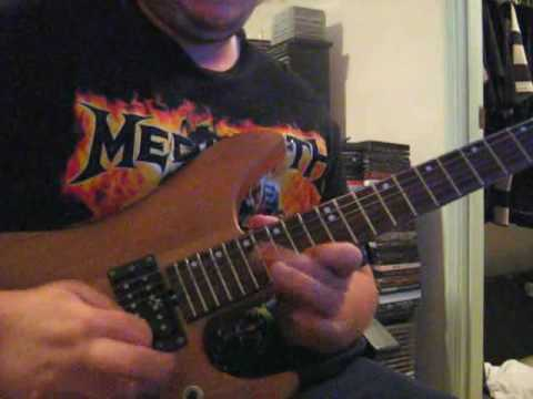 Glenn Tipton - Judas Priest electric eye guitar solo cover