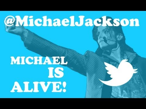 Michael is Alive! Twitter Sign from @MichaelJackson